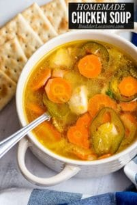 Homemade Chicken Soup title image