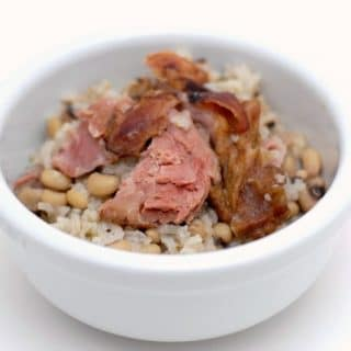 Hoppin' John: rustic Black Eyed Peas and Ham for luck in the New Year! | BoulderLocavore.com
