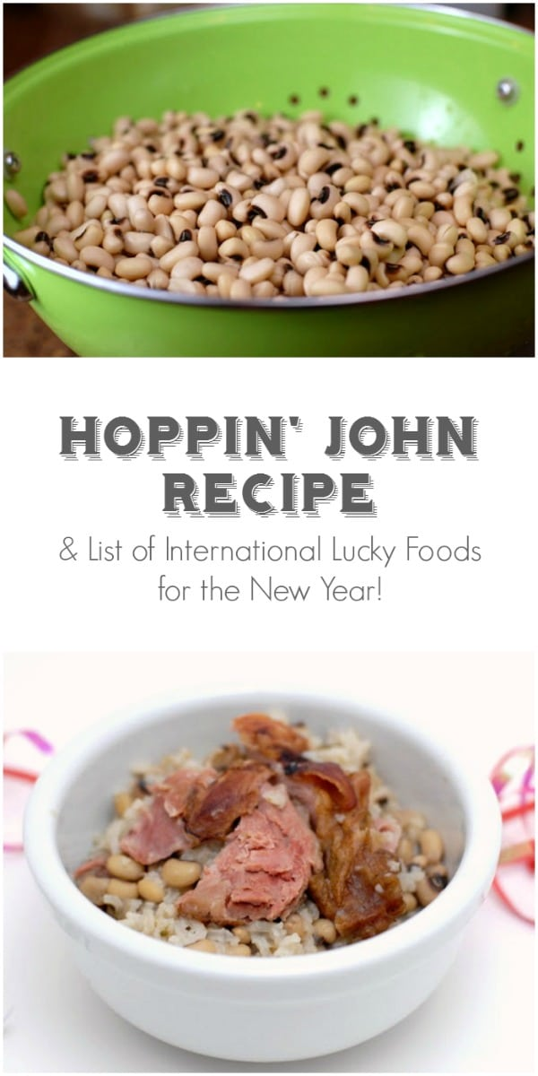 Hoppin' John recipe and List of International Lucky Foods for the New Year! BoulderLocavore.com