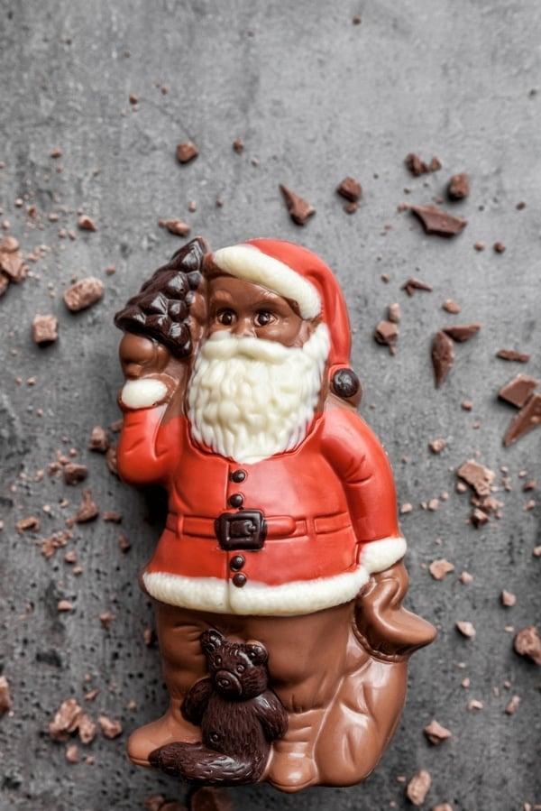 St. Nicholas Eve - chocolate santas BoulderLocavore.com