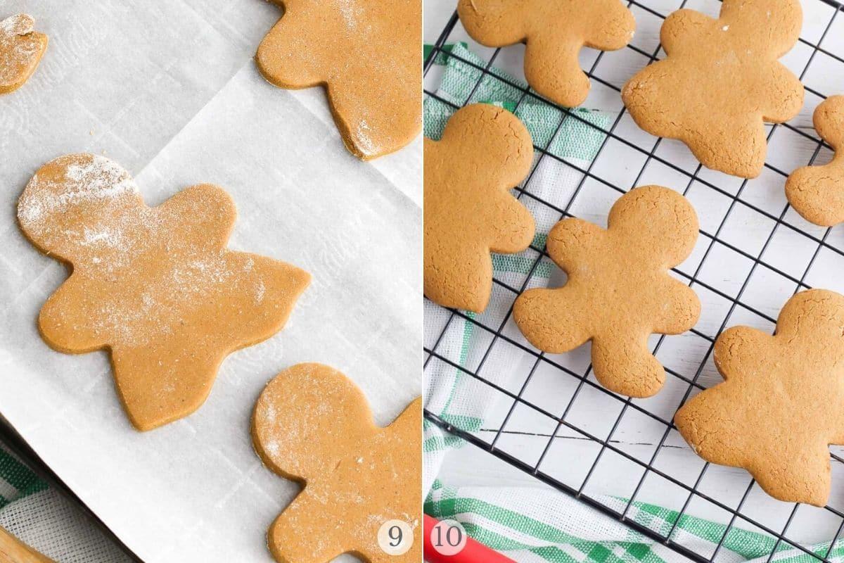 gingerbread cookies recipe steps 9-10