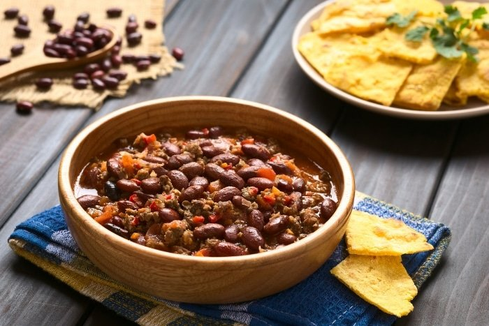 bison chili with black beans