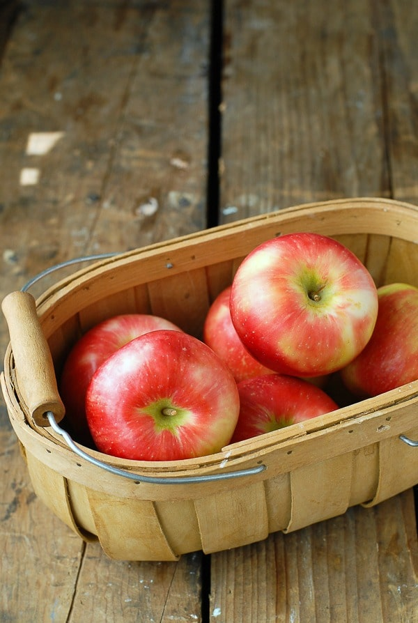 Basket of Fall Apples - BoulderLocavore.com