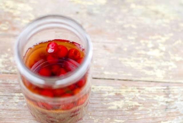 Cherry Bounce (cordial) recipe - BoulderLocavore.com