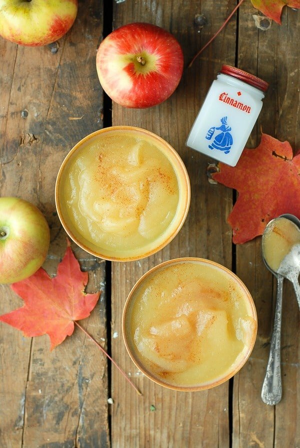 Homemade Applesauce with cinnamon -  BoulderLocavore.com