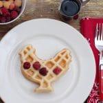 Barnyard Waffles: Buckwheat Pecan & Cornmeal Blackberry {gluten-free}
