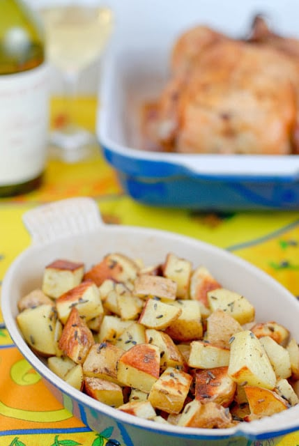 Lavender Roasted Potatoes | BoulderLocavore.com