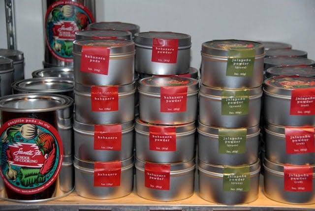 Santa Fe Cooking School spices