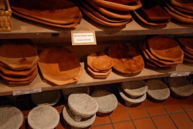 Santa Fe Cooking School bowls New Mexico