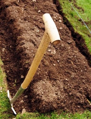 Digging Potato Beds | BoulderLocavore.com