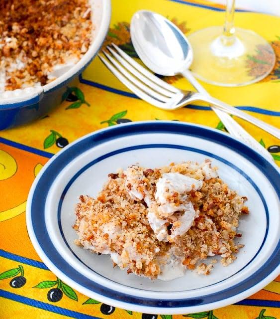 Creamy Ginger Scalloped Sunchokes - BoulderLocavore.com