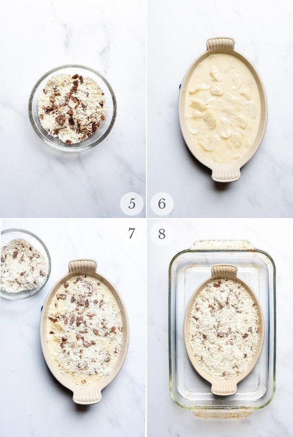 Sunchokes recipe process photos collage 2