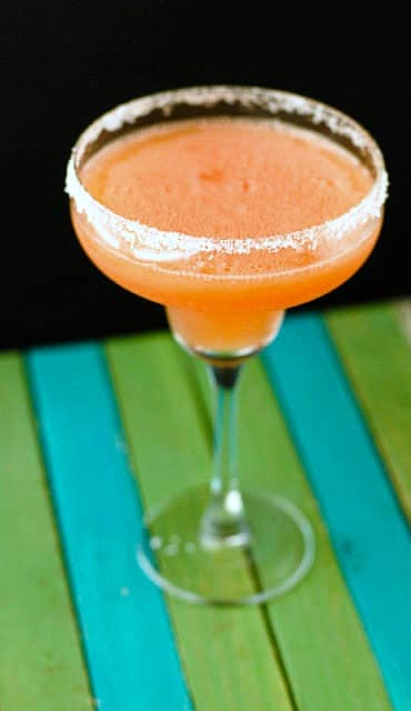 Watermelon Margarita with Watermelon Infused Tequila - BoulderLocavore.com