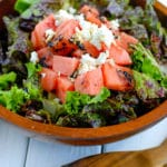 Watermelon Goat Cheese Salad recipe