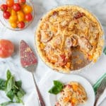 Fresh Savory Tomato Pie: My All Time Favorite Summertime Recipe