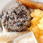 Authentic Costa Rican Gallo Pinto (beans and rice) recipe