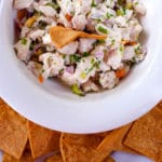 Costa Rican Ceviche (marinated fresh fish) Recipe & Dining in Guanacaste Costa Rica