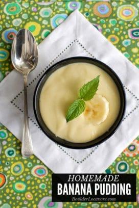 Homemade Banana Pudding title image