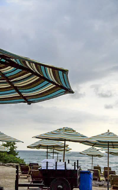 JW Marriott Guanacaste Costa Rica beach umbrellas