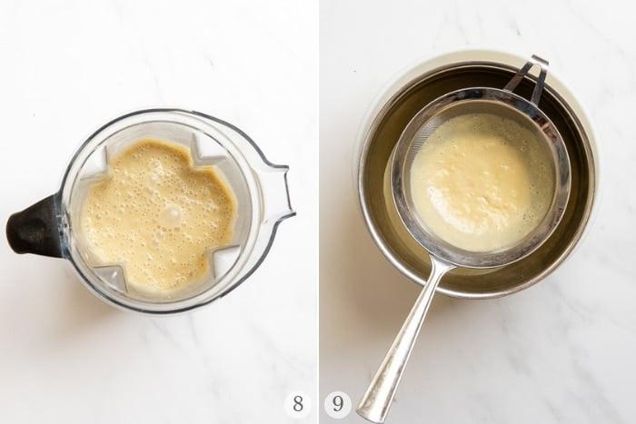 Making Homemade Banana Pudding process images
