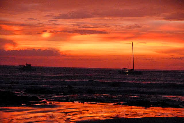 Tamarindo Costa Rica sunset 2