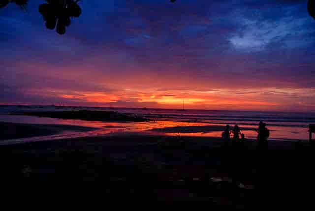 Tamarindo Costa Rica sunset