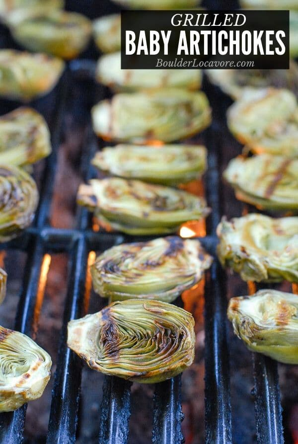 Grilled Artichokes title image