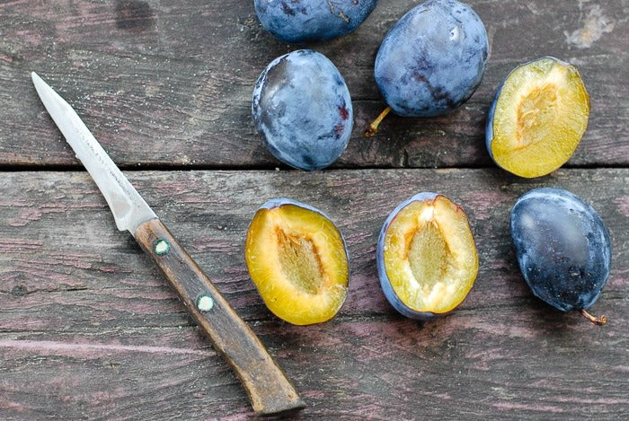 How to Make Hedgerow Gin (Italian Plums). A simple liqueur made with gin, sugar and hedge-grown fruits (or delicious substitues for those without headges)   BoulderLocavore.com