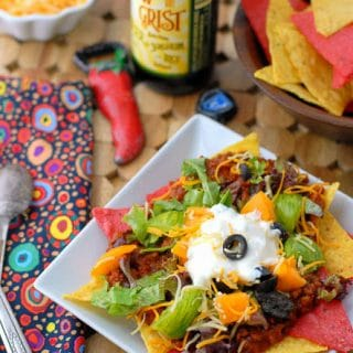 Mexican Sloppy Joes meets Nachos: Tijuana Trainwreck