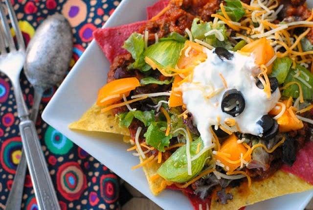 Mexican Sloppy Joes meets Nachos: Tijuana Trainwreck | BoulderLocavore.com