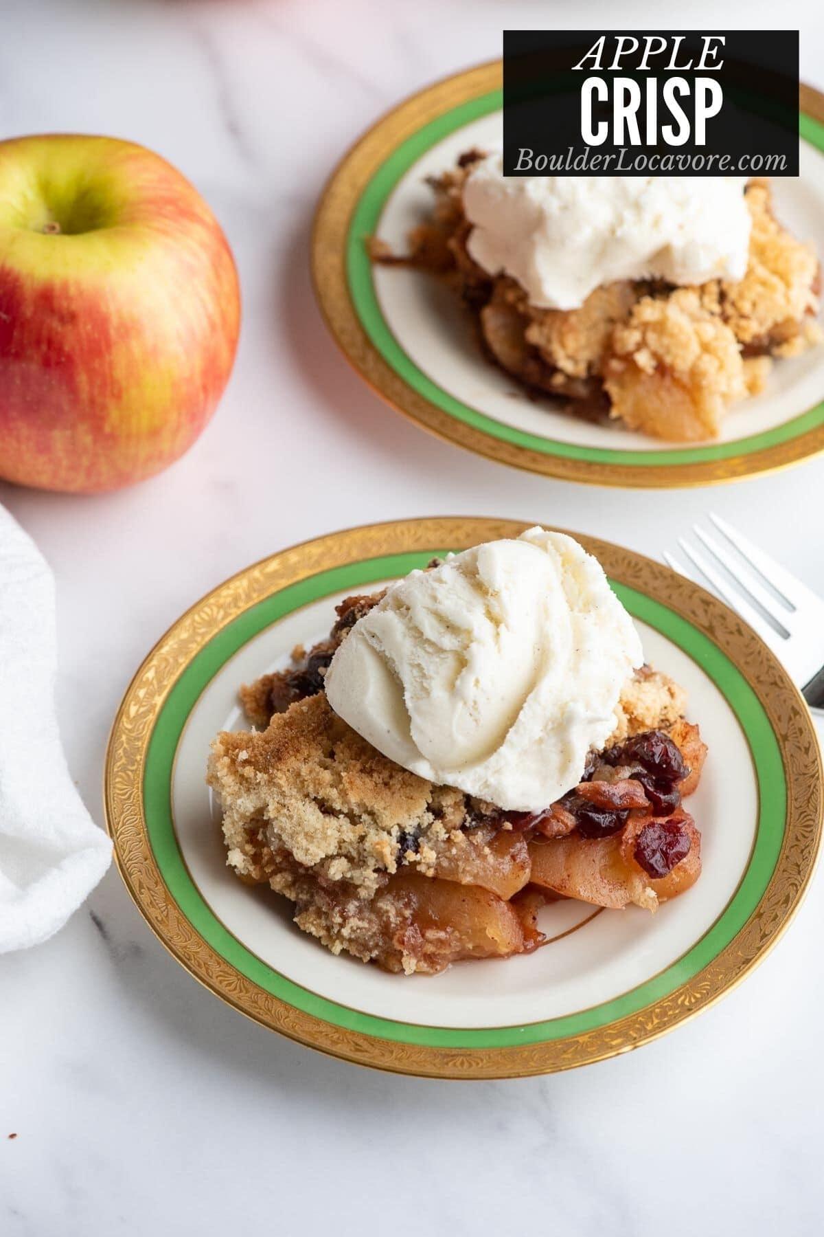 apple crisp title image