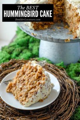 Hummingbird Cake title image