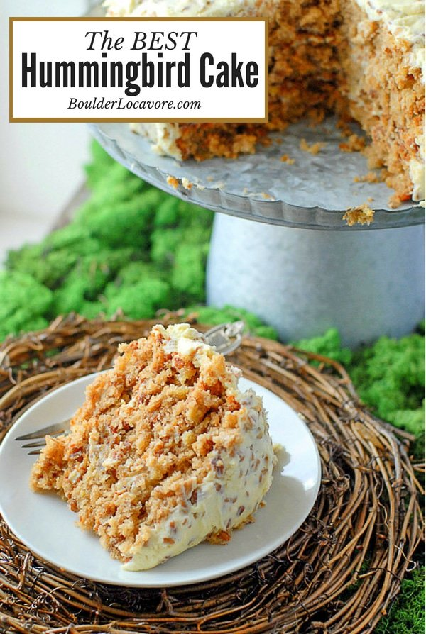 The Best Hummingbird Cake Irresistible Flavors In A Moist