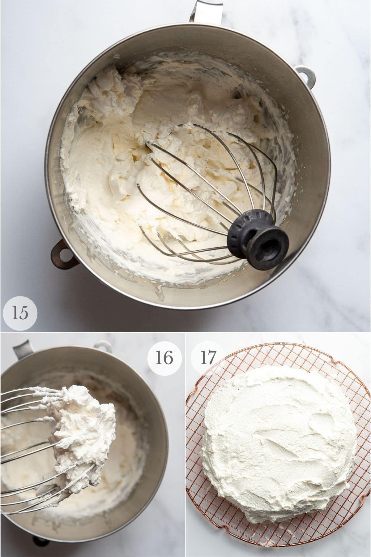 tres leches cake recipe steps 15-17