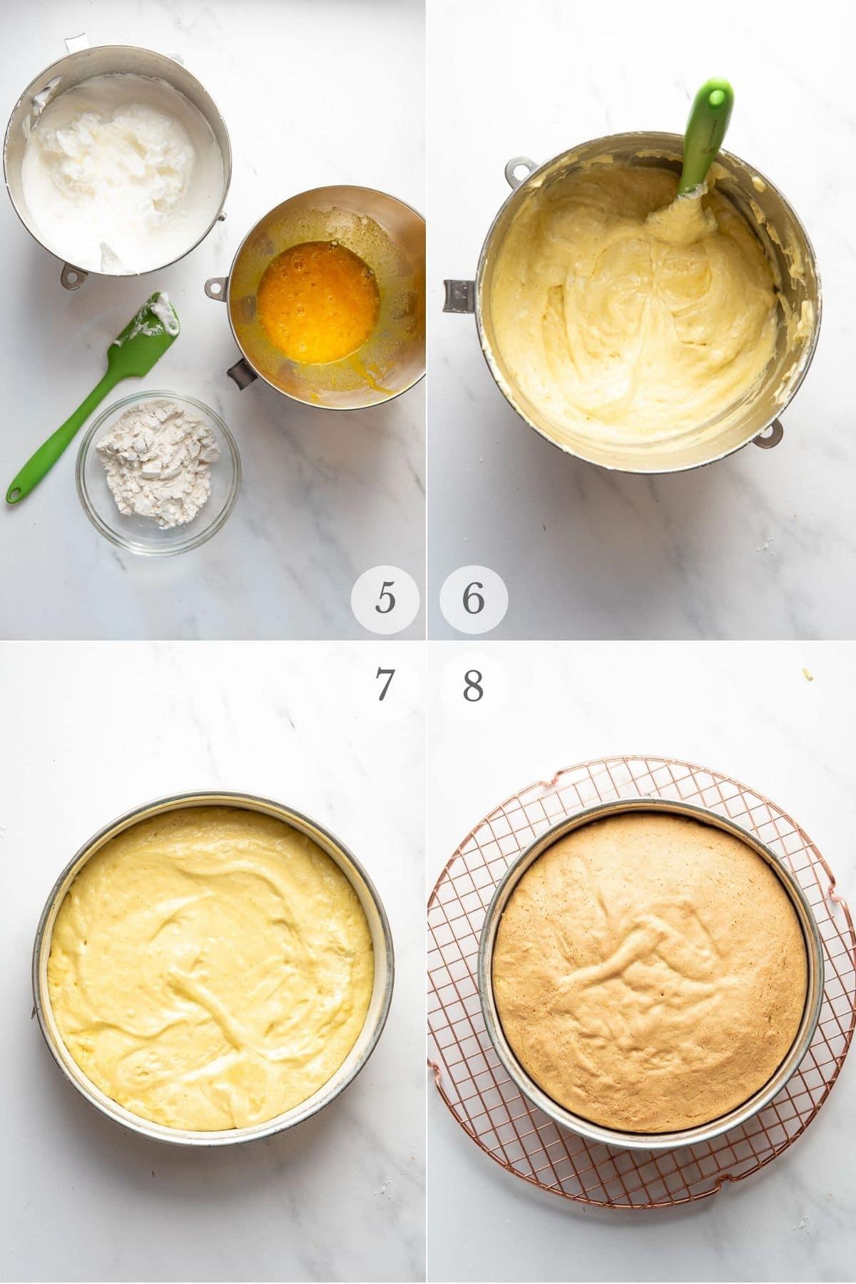 tres leches cake recipe steps 4-8