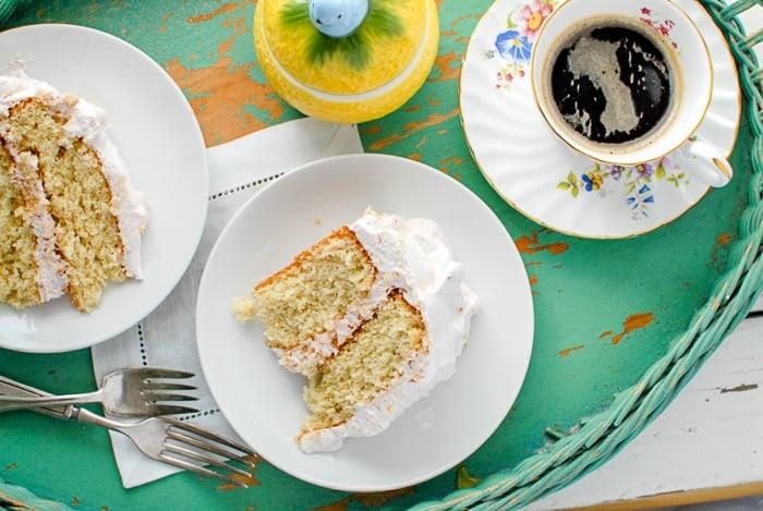 happy day cake on tray