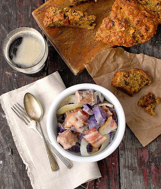 Authentic Dublin Coddle recipe with Gluten-free Irish Soda Bread - BoulderLocavore.com