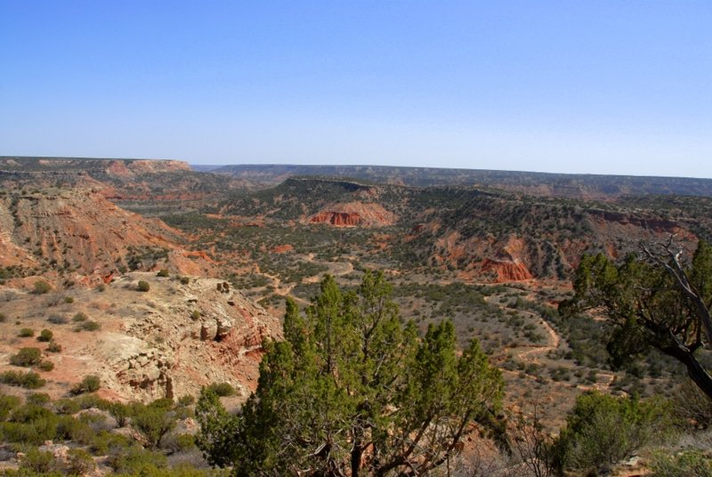 palo duro canyon vista