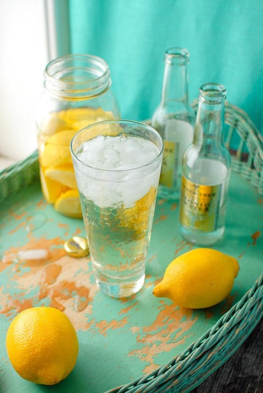 Lemon Vodka Tonic
