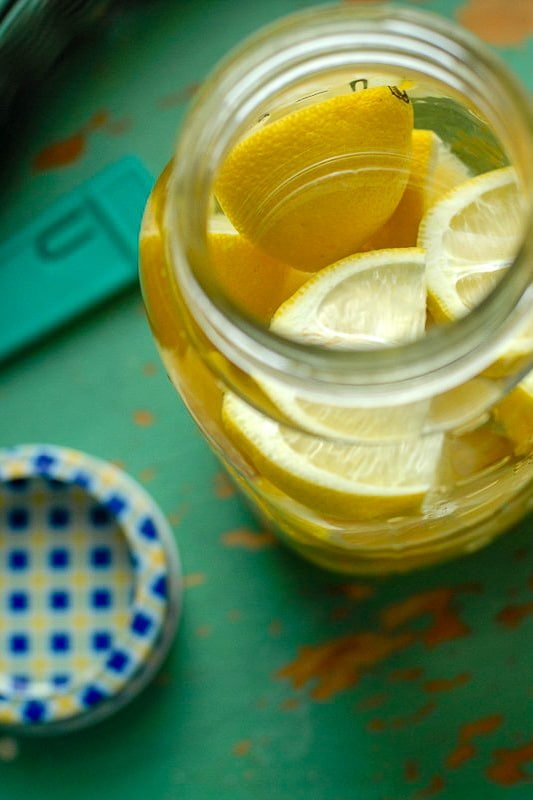 Lemon Vodka infusing