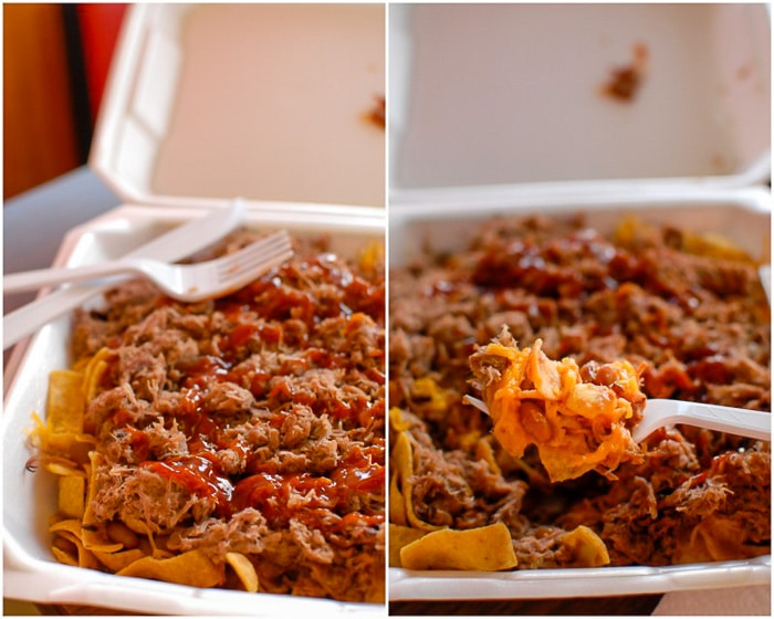 Frito Pie at Robinson's BBQ Amarillo Texas