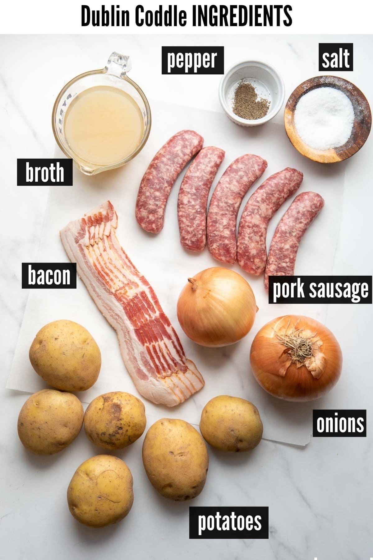 dublin coddle ingredients