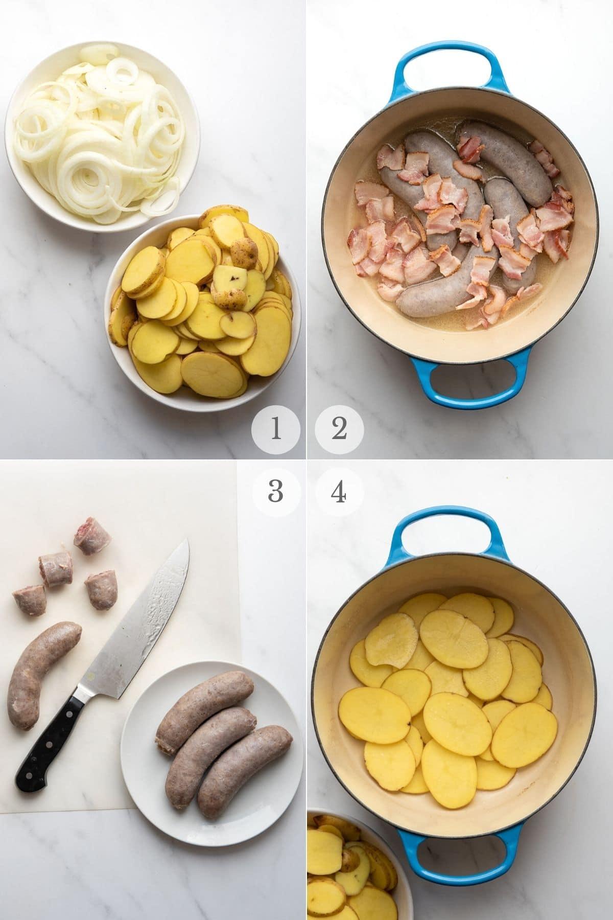 dublin coddle recipe steps 1-4