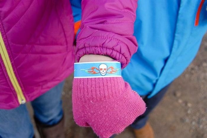 Frozen Dead Guy Days wristband