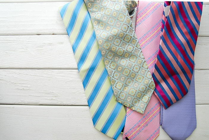 silk neck ties