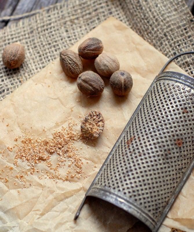 grating nutmeg