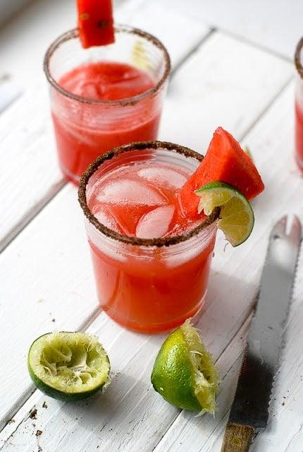 Smoky Watermelon-Jalapeno Margarita -  BoulderLocavore.com