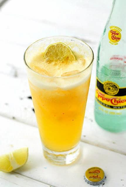 Fresh Peach Spritzer non-alcoholoic -  BoulderLocavore.com