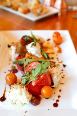 Vail Sweet Basil Tomato Salad