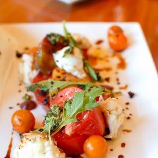 Vail Sweet Basil Tomato Salad - BoulderLocavore.com
